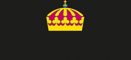 Länsstyrelsernas gemensamma logotyp. Överst är en krona (av typen kungakrona) och under står det Länsstyrelserna.